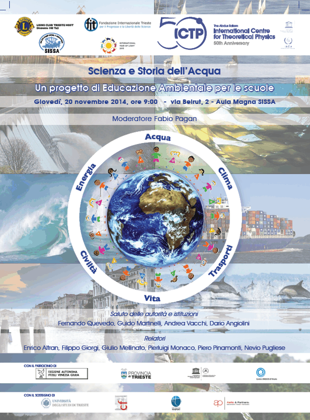 Scienza e storia dell'acqua